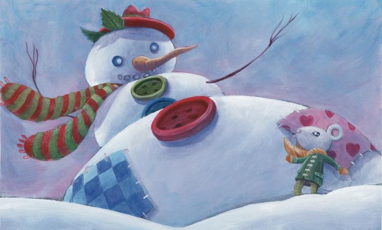 L'escapade du bonhomme de neige